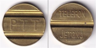 PTT Telephone Token (2 Small Size)